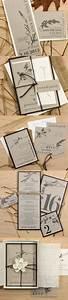 wedding rustic wedding invitations and rustic on pinterest With eco friendly wedding invitations simple yet elegant