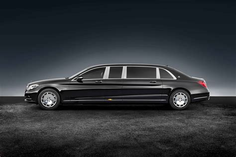 Mercedes-maybach Armored S600 Pullman Guard