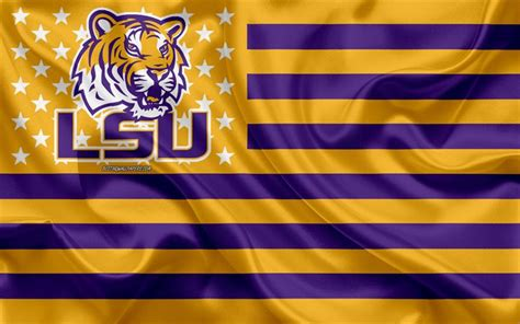 Download wallpapers LSU Tigers, American football team ...