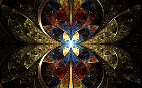 fractal hd wallpaper background image  id