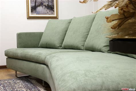 Contemporary Half-round Fabric Sofa With Removable Cover