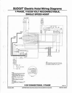 120 Volt Hoist Wiring Diagram