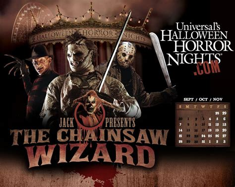 Horror Nights Wallpaper by Leatherface Wallpapers Wallpaper Cave