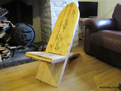 pallet viking chair  lichtenberg figure  glow
