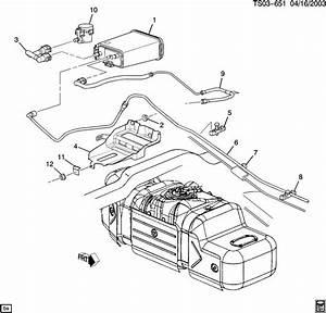 2003 Chevrolet S10 Valve  Fuel Tank Evaporator  Purge
