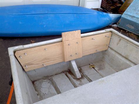 Jon Boat Transom Reinforcement by Here S My Boat Sears 14 Jon Tinboats Net