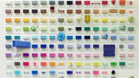 lego colors this lego color chart contains every color lego that exists