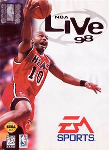 nba live 98 for genesis 1997 mobygames