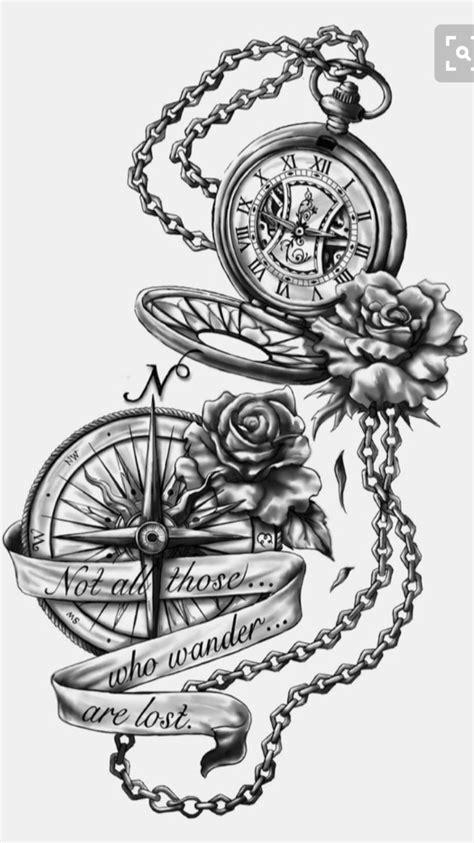 Pin by Addyson summers on Tattoos   Tatuajes de relojes, Tatuajes, Tatuajes muslo