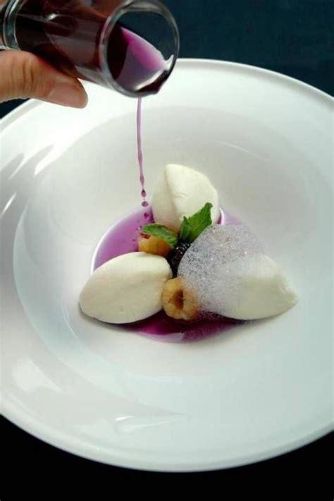 dessert avec du l assiette gastronomique en photos archzine fr