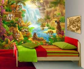 3d tapete kinderzimmer kinderzimmer tapete jungle quartru