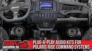 Ssv Works Audio Kits For Polaris Ride Command Systems