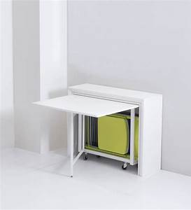 Table de cuisine murale rabattable collection avec table for Meuble salle À manger avec chaise design de cuisine