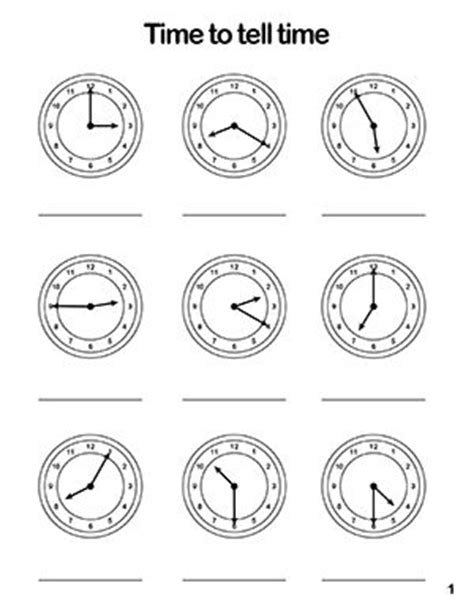 telling time worksheets arabic language pinterest to tell printables and telling time
