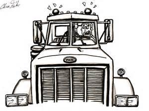 Semi Truck Trailer Drawings