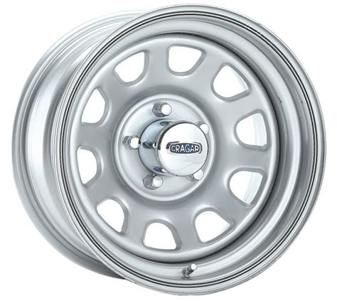 cragar series  silver  window wheel  jeep
