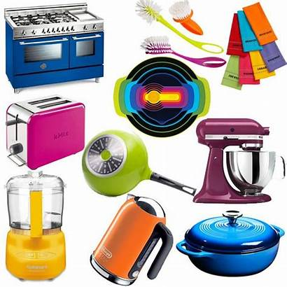 Kitchen Colorful Appliances Accessories Eatwell101 Saying Fun