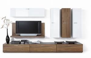 Meuble De Tele Design : meuble tv contemporain meuble banc maison boncolac ~ Teatrodelosmanantiales.com Idées de Décoration