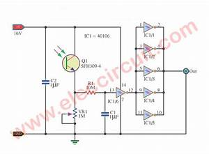 Light Actuated Relay Circuits By Photo Transistor