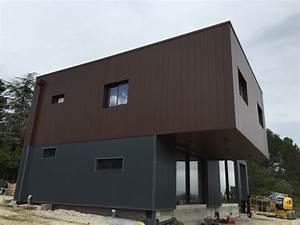 Prix Charpente Métallique Maison : mtallique maison finest maison traverse frres charpente ~ Premium-room.com Idées de Décoration