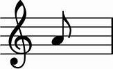 Image result for a music note