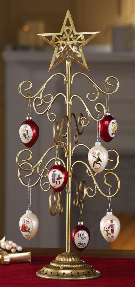 metal christmas tree ornament display christmas decoration gold metal tabletop tree 6291