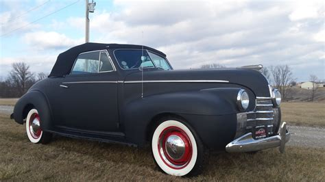 1940 Oldsmobile 40 Series With Convertible Top. 69k Org