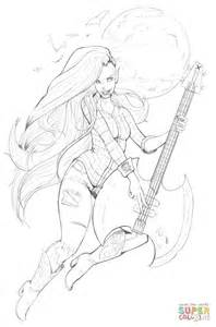 Marceline the Vampire Queen coloring page | Free Printable ...