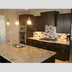 Cool Natural Stone Kitchen Backsplash Gallery With Lights
