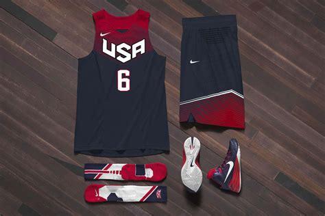 nike basketball unveils  usa basketball uniforms