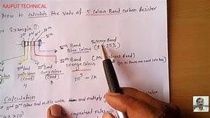 Resistor Band Chart How To Calculate The Value Of 5 Colour Band Resistor Using