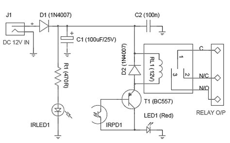 Optical Liquid Sensor Circuit