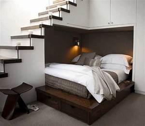 Haus Einrichten Ideen : kleine schlafzimmer einrichten ideen mit holzbetten ~ Lizthompson.info Haus und Dekorationen