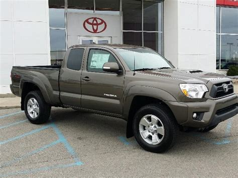 Tacoma is unchanged for 2015, although there is a new tacoma trd pro model available. Sign Up and Win a 2015 Toyota Tacoma - Toyota of Muncie