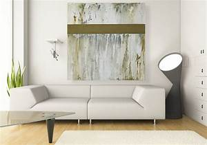 Large wall art original 40x40 inch neutral abstract for Best brand of paint for kitchen cabinets with abstract bathroom wall art
