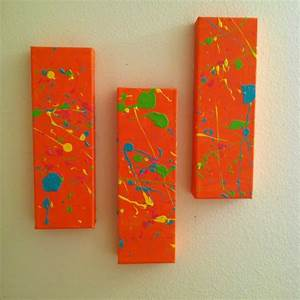 56 best images about splatter paint on pinterest music for What kind of paint to use on kitchen cabinets for rainbow canvas wall art