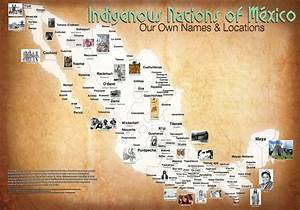 """""""Map of Our Tribal Nations, MEXICO: Our Own Names ..."""
