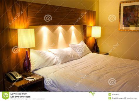 bedroom mood lighting hotel bedroom stock photos image 30282903