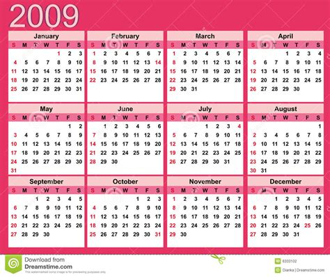 pink calendar   stock photography image