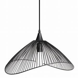 Lustre Suspension Design : lustre filaire noir lustre imitation cristal marchesurmesyeux ~ Teatrodelosmanantiales.com Idées de Décoration