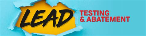 lead testing  abatement alpha