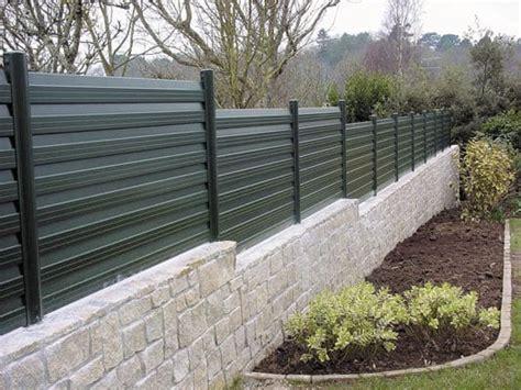 cloture decorative pour jardin 3 id 233 es pour remplacer sa cl 244 ture de jardin par une