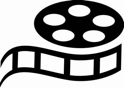 Svg Icon Ticket Film Cinema Camera Clipart