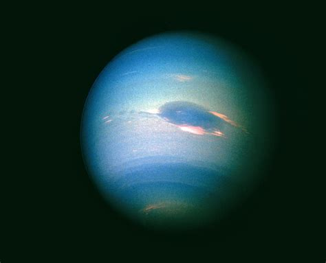 Voyager 2 Image Of The Planet Neptune Photograph By Nasa