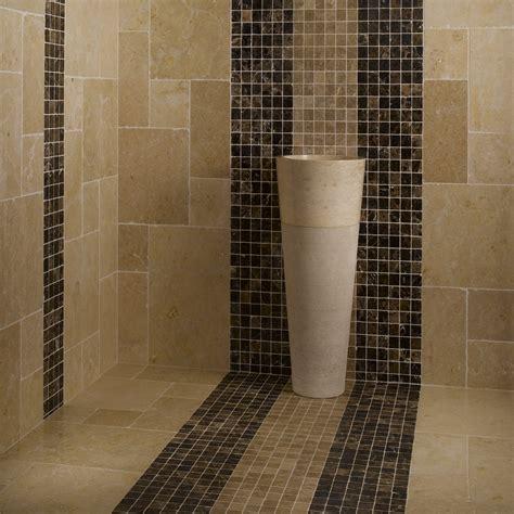 deco cuisine moderne mosaïque marbre emparador foncé marron indoor by