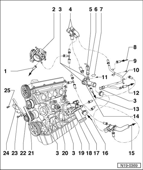 Gti Fsi Engine Diagram by Volkswagen Workshop Manuals Gt Golf Mk4 Gt Engine Gt 4