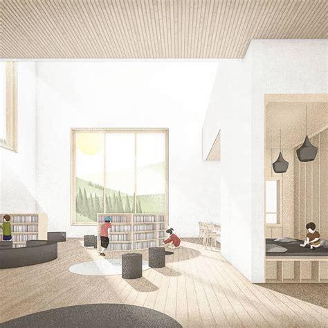 pin   han  collage architecture visualization