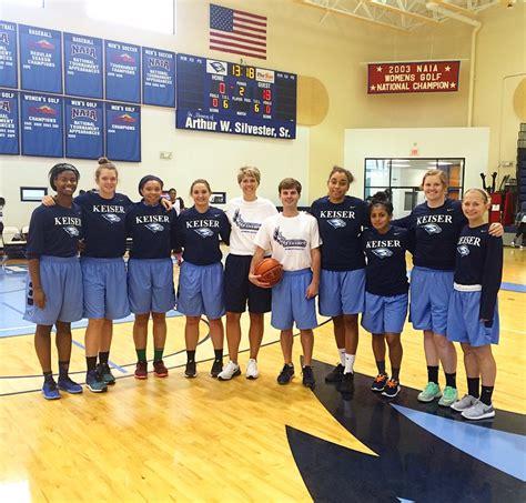 keiser basketball camp welcomes  high school teams