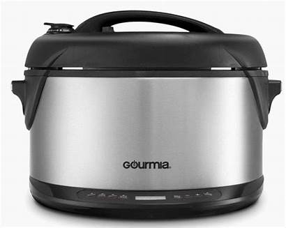 Gourmia Smoker Cooker Pressure Multifunction Slow Steamer