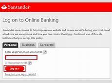 santander online banking uk